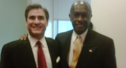 Dan and Herman Cain