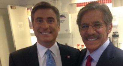 Dan and Geraldo Rivera